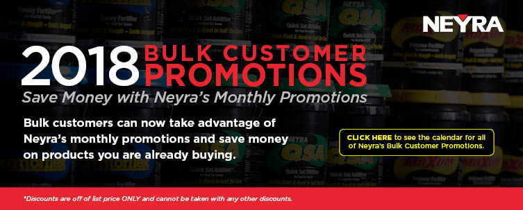 Bulk Customer Promotions Homepage Banner