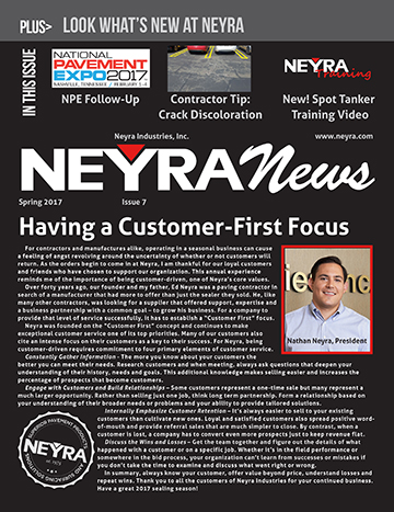 Customer Newsletter Spring 2017 Issue 7 5 17 Front Page WEB