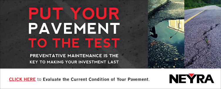 Put Your Pavement to the Test Homepage Banner